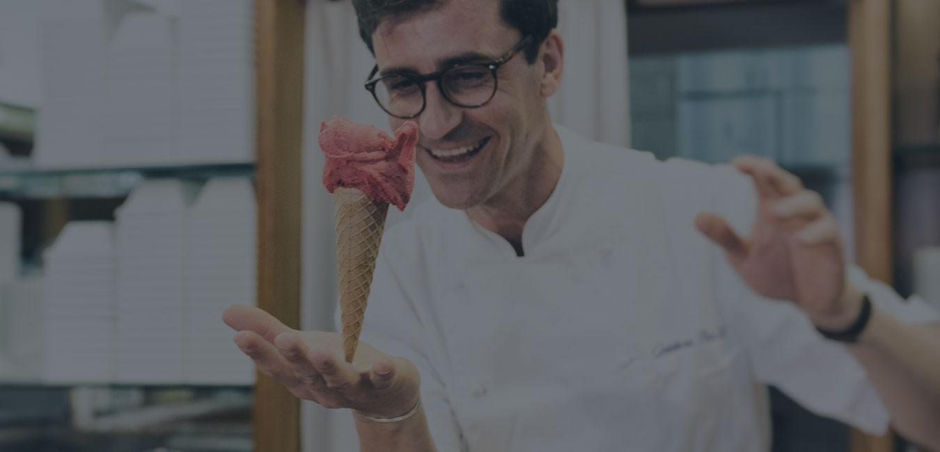 Iginio Ventura masetro gelatiere gelateria pinagel peschici
